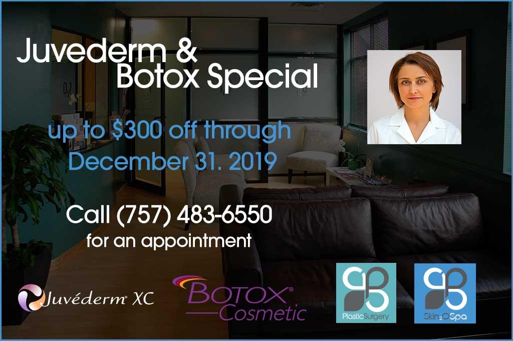 December 2019 Juvederm + Botox Special